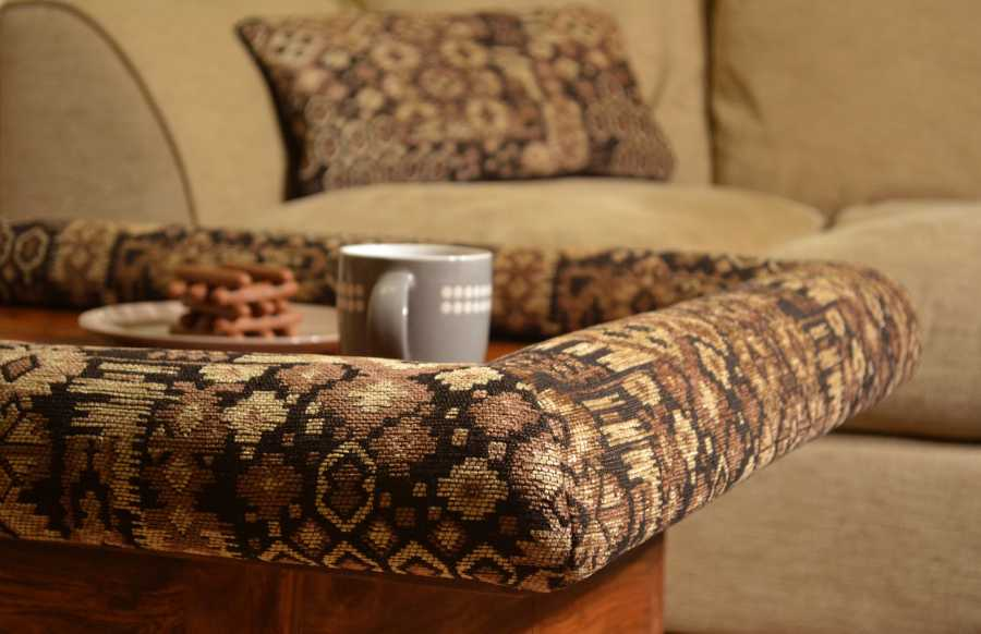 Keep the coffee table while still using it as a footrest